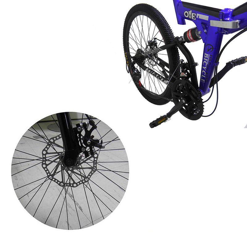 Bicicleta Dobravel Urbana 21 Marchas Aro 26 Freio Disco (BSL-BIC-2)