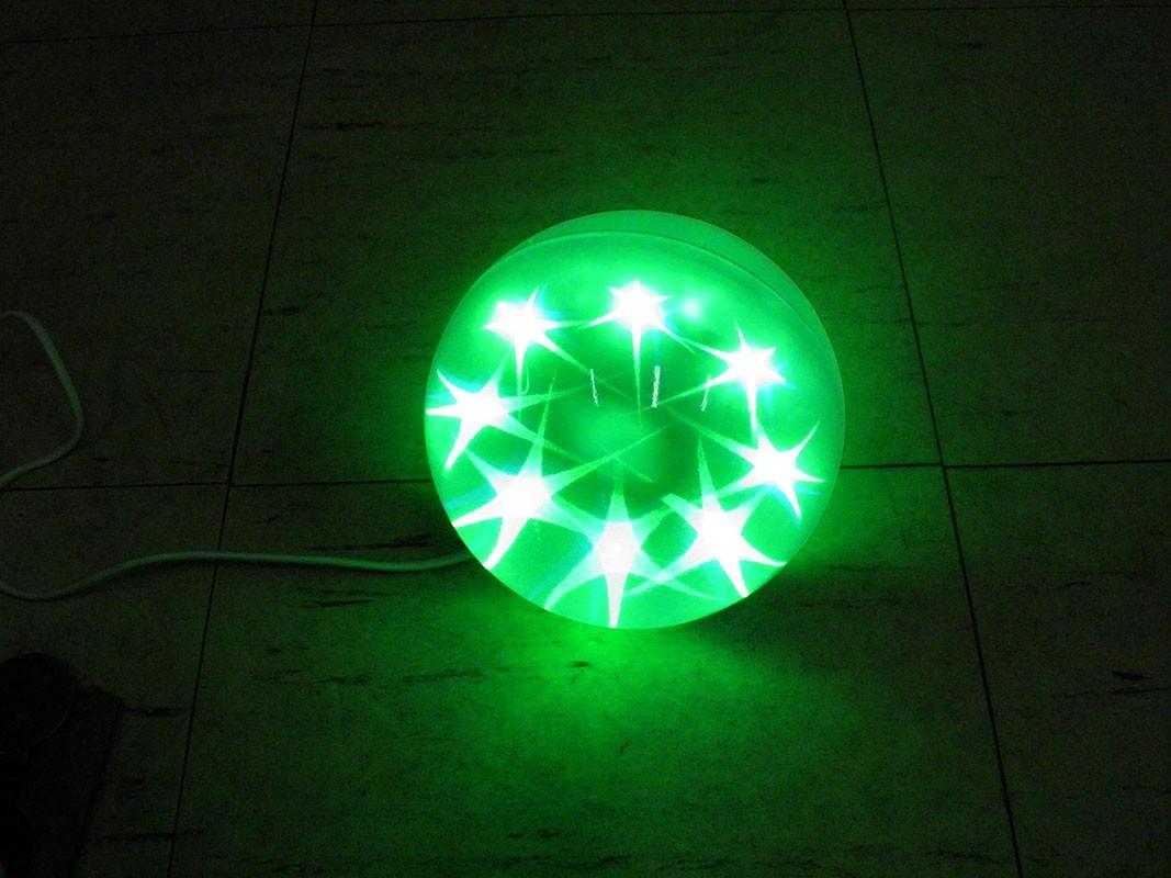 Bola De Natal Decorativa Com Led Pisca Pisca Enfeite Natalino Decoracao Luminosa Casa (JA-80513)