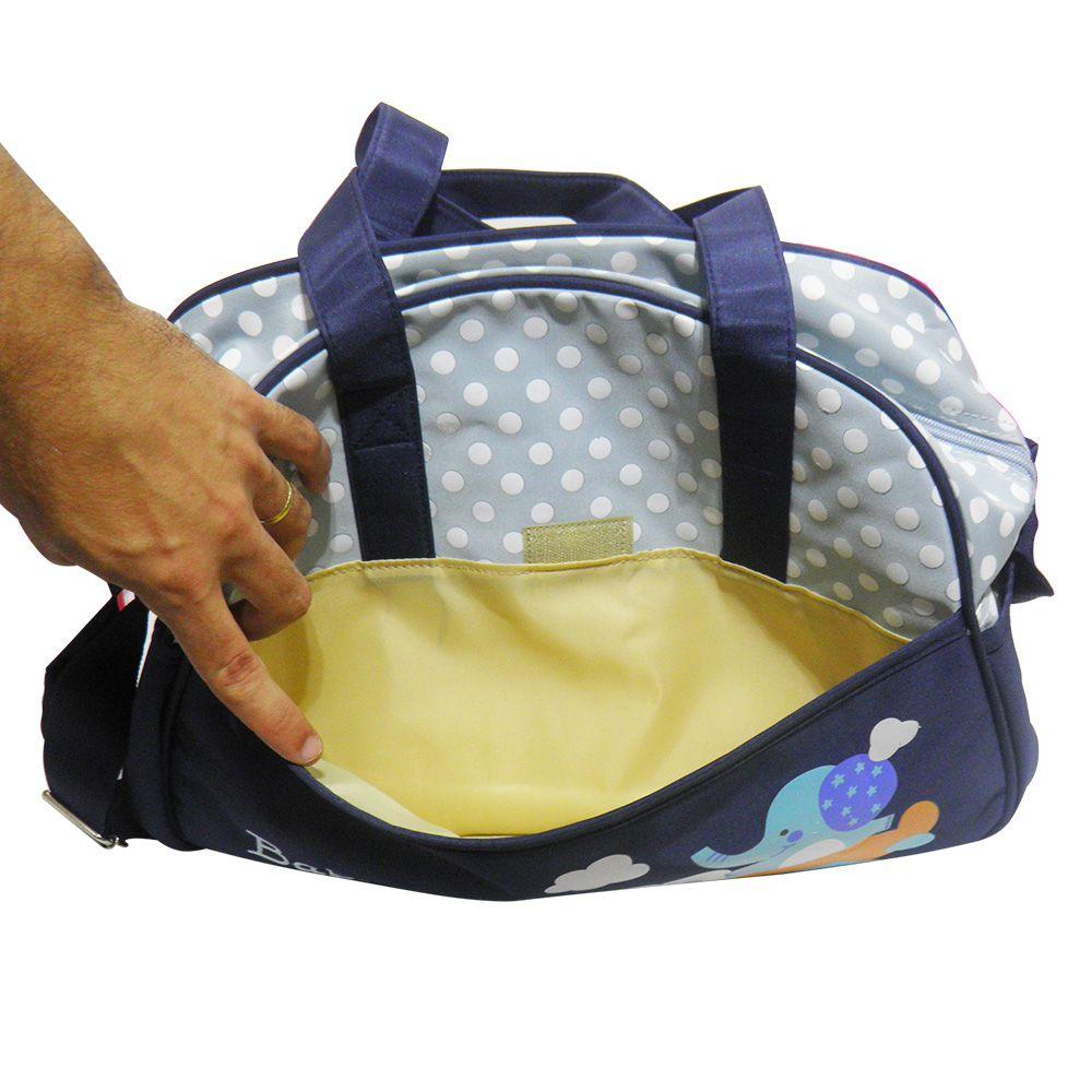 Bolsa Maternidade Bebe Trocador Criança Ipermeavel Grande