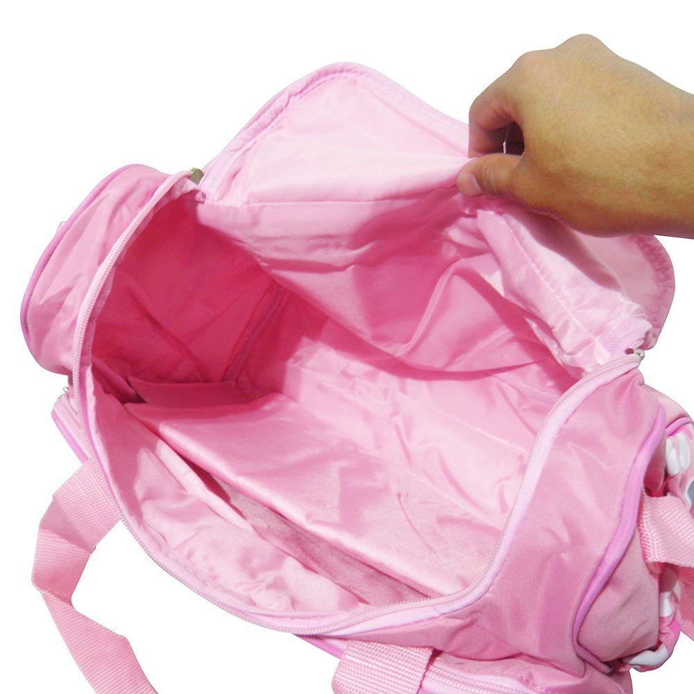 Bolsa Maternidade Trocador Viagem Bebe impermeavel Rosa Multifunção
