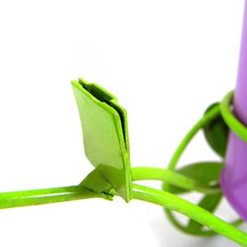 Boneca de Flor com Bicicleta Para Enfeite e Decoraçao Jardim e Flores Vaso Lilas (BON-P-11)