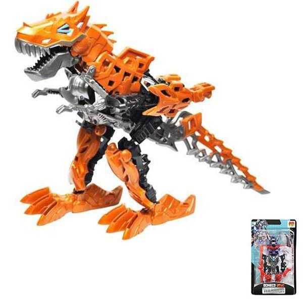 Boneco Infantil Transformavel Dinossauro Crianca Brinquedo