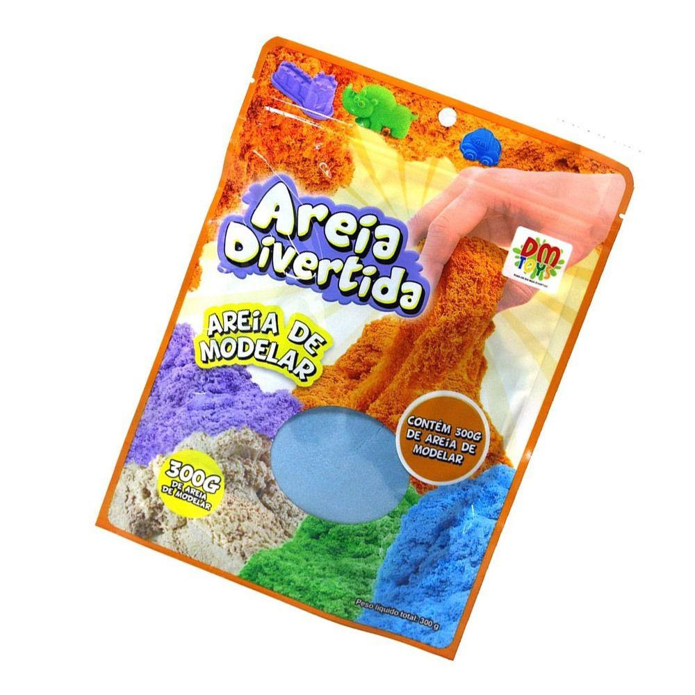 Brinquedo Massinha Areia Magica De Modelar 300g Crianca Kid (DMT5338)