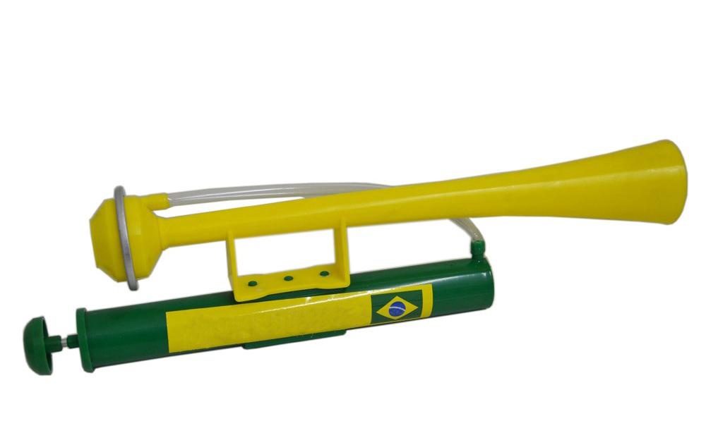 Buzina Corneta Maritima Olimpiadas Brasil Torcida Verde Amarela
