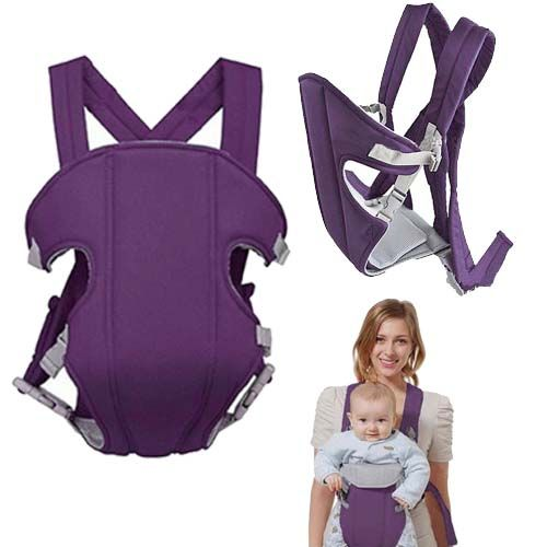 Canguru Carregador de Bebe Para Crianças Transporte Baby Bag Cor Roxo (MC40524)