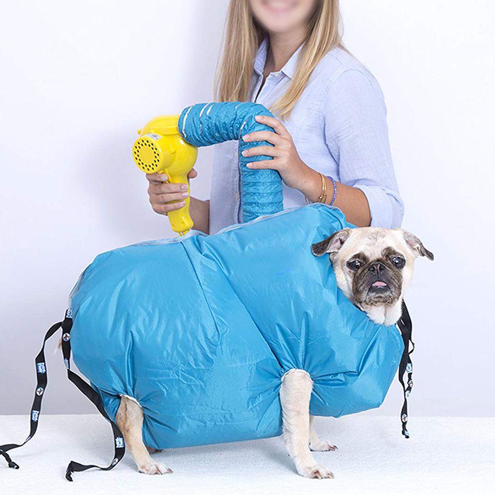 Capa Secadora Cachorro Caes Vento Quente Tosa Banho Secador Pet Seco