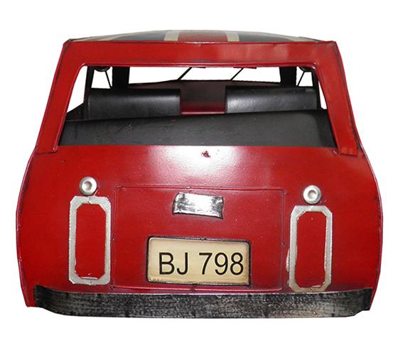 Carro Vintage Decorativo Mini Cooper Londres Retro Mr Bean (CJ-021)