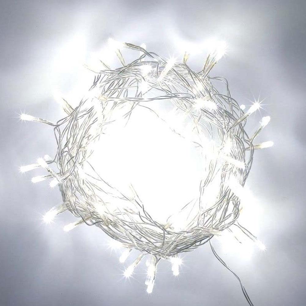 Cascata Pisca Pisca 200 Leds De Natal Enfeite Decoração Branco (JA-81105 Branco)
