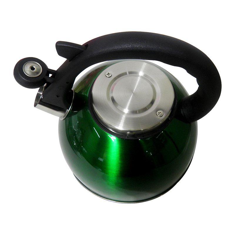 Chaleira Em Aço Inox Com Apito Alça 3 Litros cozinha casa ergonomico