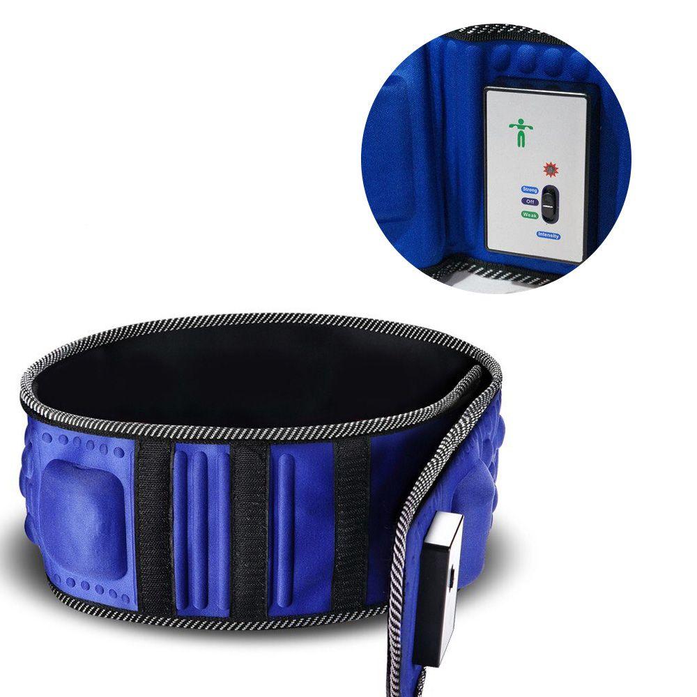 Cinto Auxilia Emagrecer Afina Cintura Vibraçao Massagem Magnetica Queima Gordura