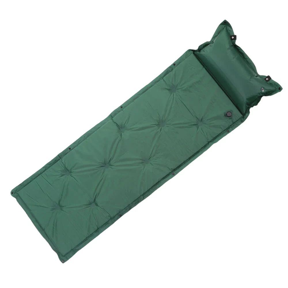 Colchao Inflavel Enche Sozinho Automatico Camping Dormir 1 pessoa