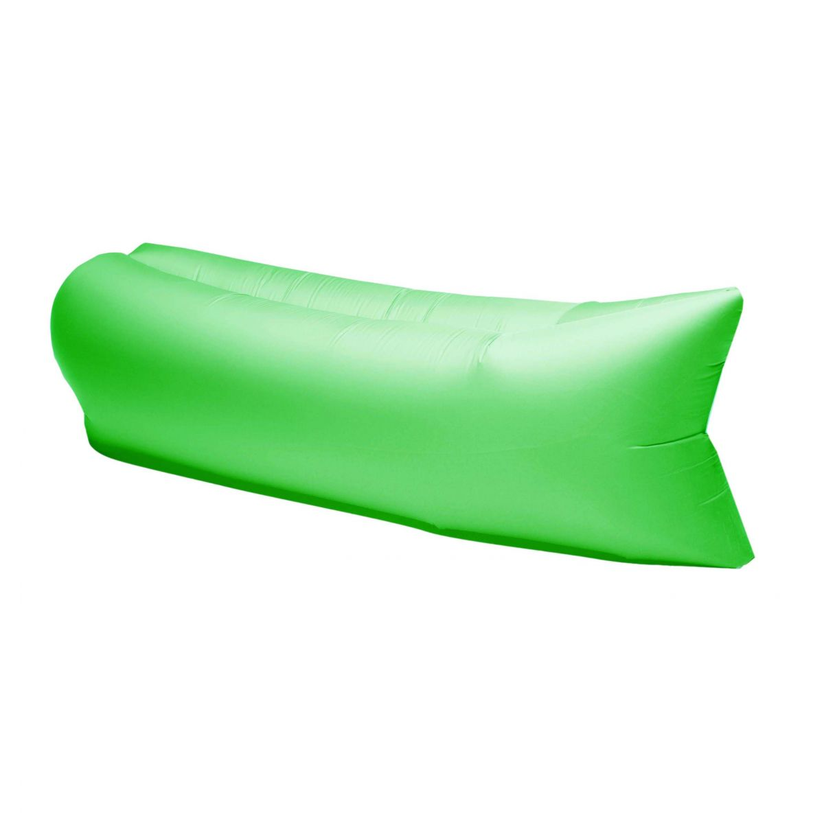 Colchonete Magico Puff Sofa Inflavel Saco Dormir Camping Verde (BSL-PUF-1)
