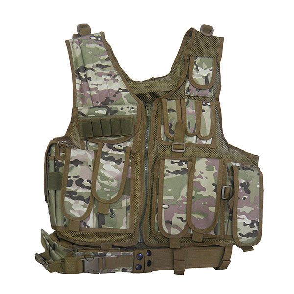 Colete Tatico Airsoft Paintball Multicam Ajustavel (BSL-21296-8)