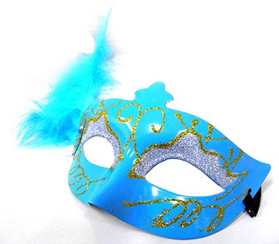 Mascara De Carnaval Kit 10 Unidades Fantasia Luxo Gala Festa Evento (6151-21)