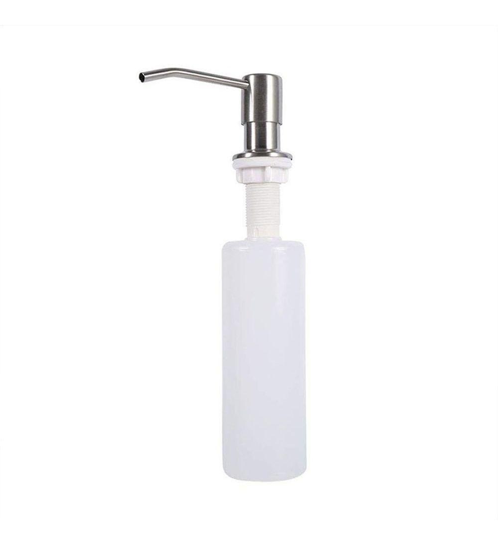 Dispenser Embutir Dosador Liquido sabão Pia Detergente Sabonete escovado cozinha banheiro 20 unids