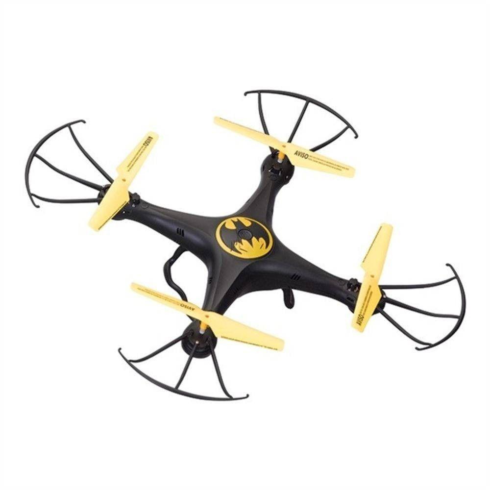Drone Batman Quadricoptero Crianca Controle Remoto Brinquedo (BMDR01/2942)