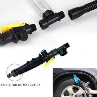 Escova Para Lavar Carro Suporte Sabao Lava Jato Automotivo (23521-11)