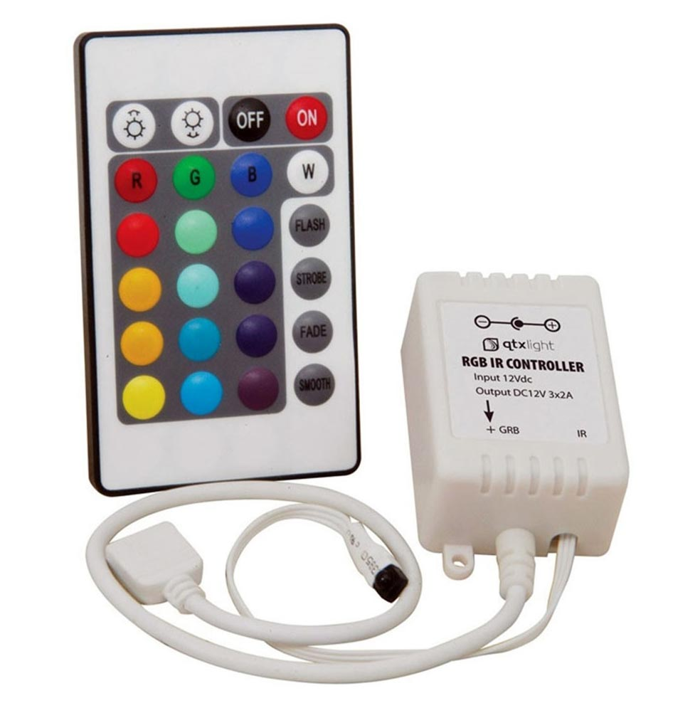 Fita de Led 5 Metros Luz Colorida Controle Wireless 127v