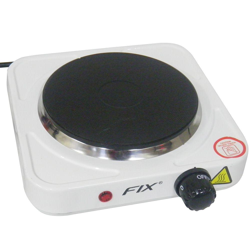 Fogao Eletrico 1 Boca Antiaderente Portátil 1000w 110v Chapa