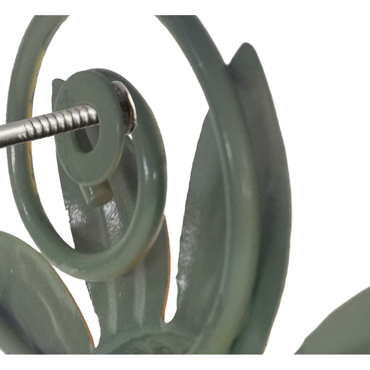 Gancho de Metal Flor Triplo Para Chapeu Bolsa Bone Enfeite Pendura Sortido Com 2 Unid (pt-c-e)