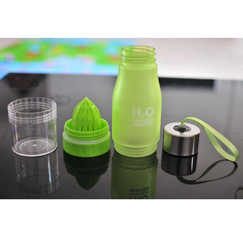 Garrafa  Infusora Drink More Water  Detox espremedor  H2O suco Chás 650 ml