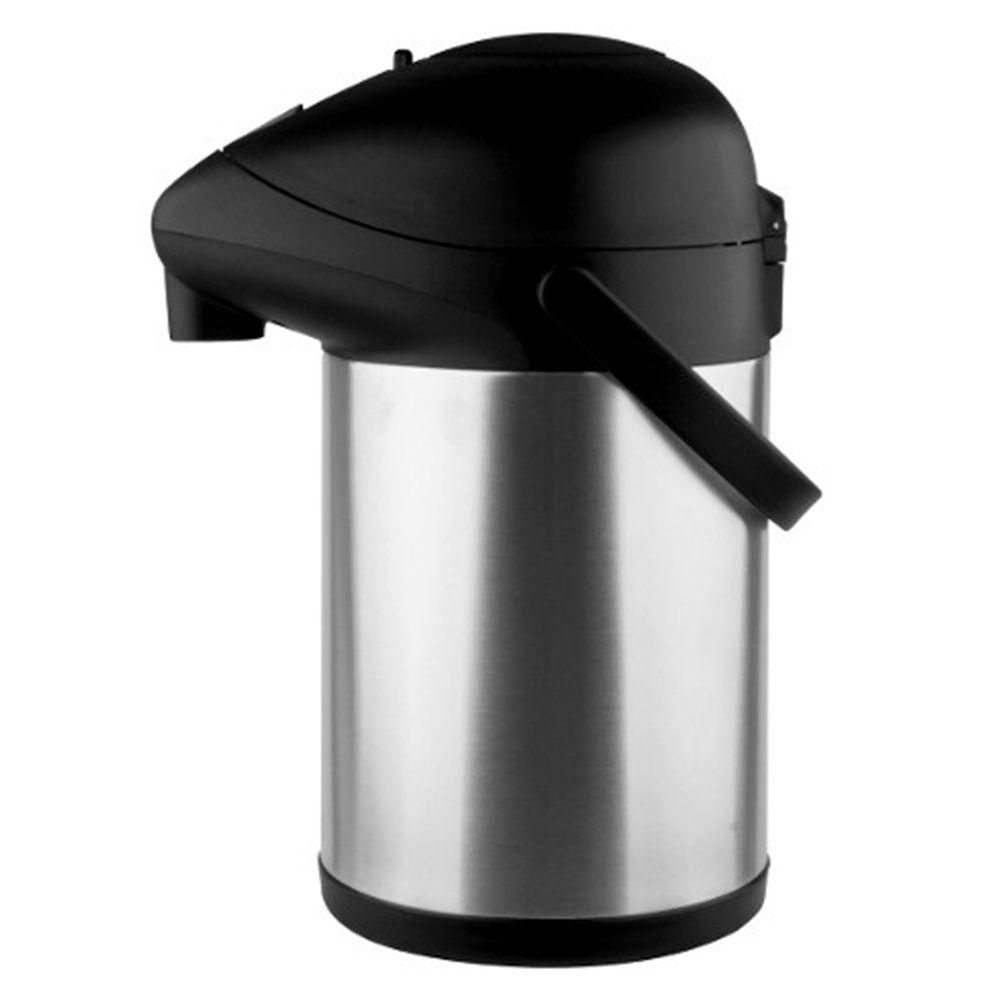 Garrafa Termica 2,5L Inoxidavel Pressao Resistente Bebidas Cafe