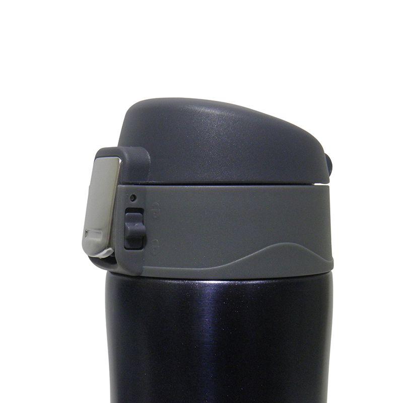 Garrafa Termica Aço Inox Agua Cafe 500ml Quente Frio Azul Vacuo