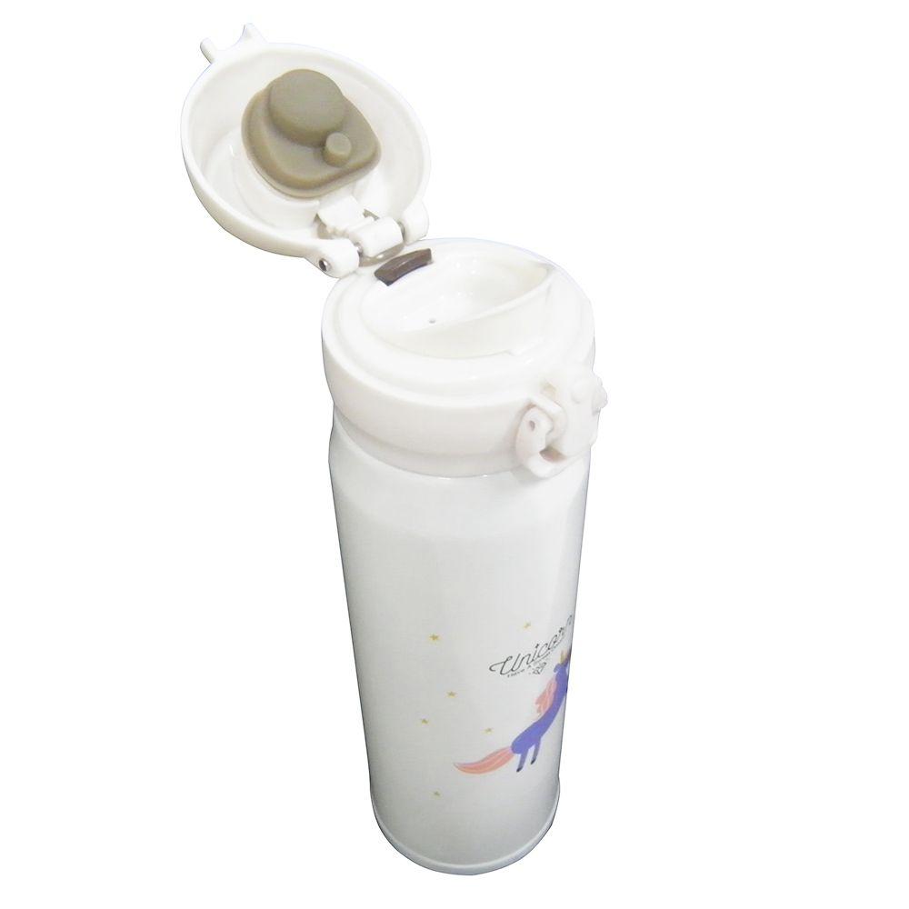 Garrafa Termica Unicornio Aço Inox  Quente ou Frio 500ml Vacuo (16002)