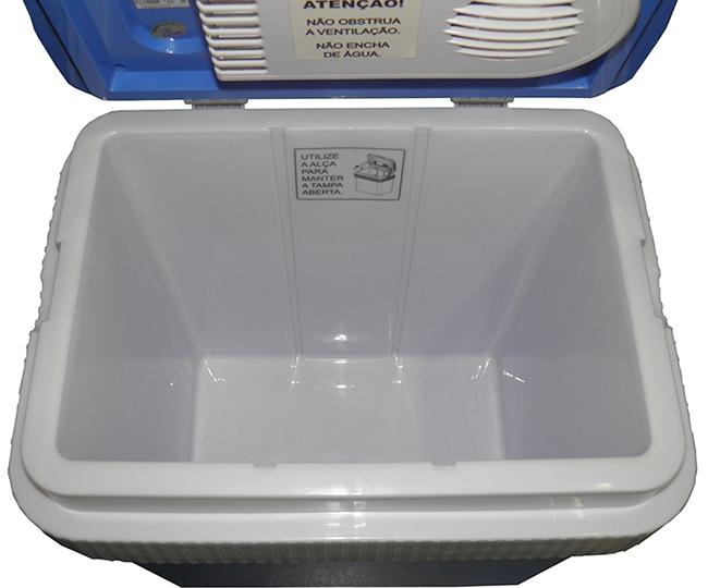 Geladeira Refrigerador e Aquecedor 25L Portatil Para Carro Casa Viagem (8577)
