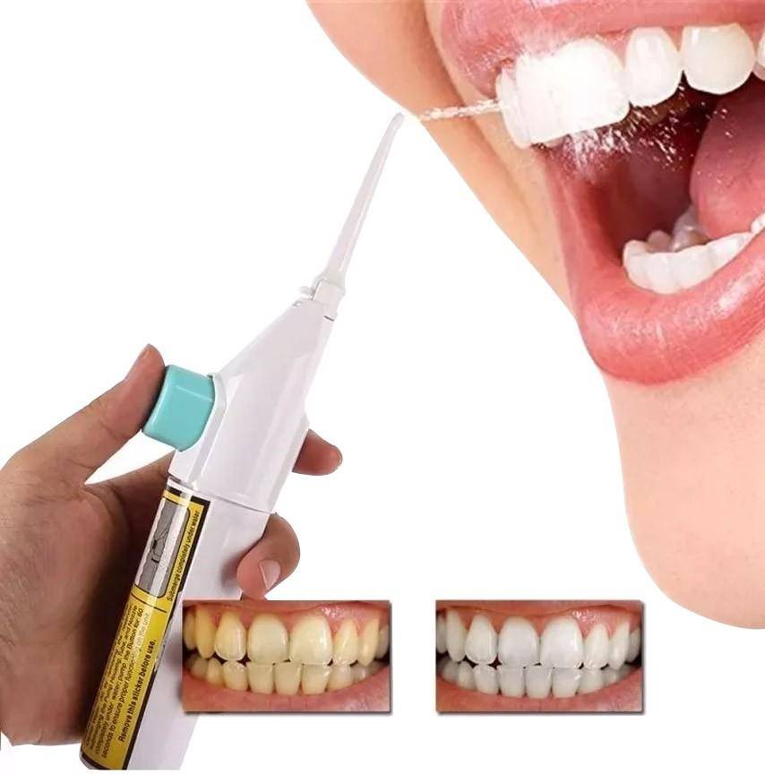 Jato de Agua Branqueador Bucal Limpeza Oral Power Floss (88830 / 34912) NA*