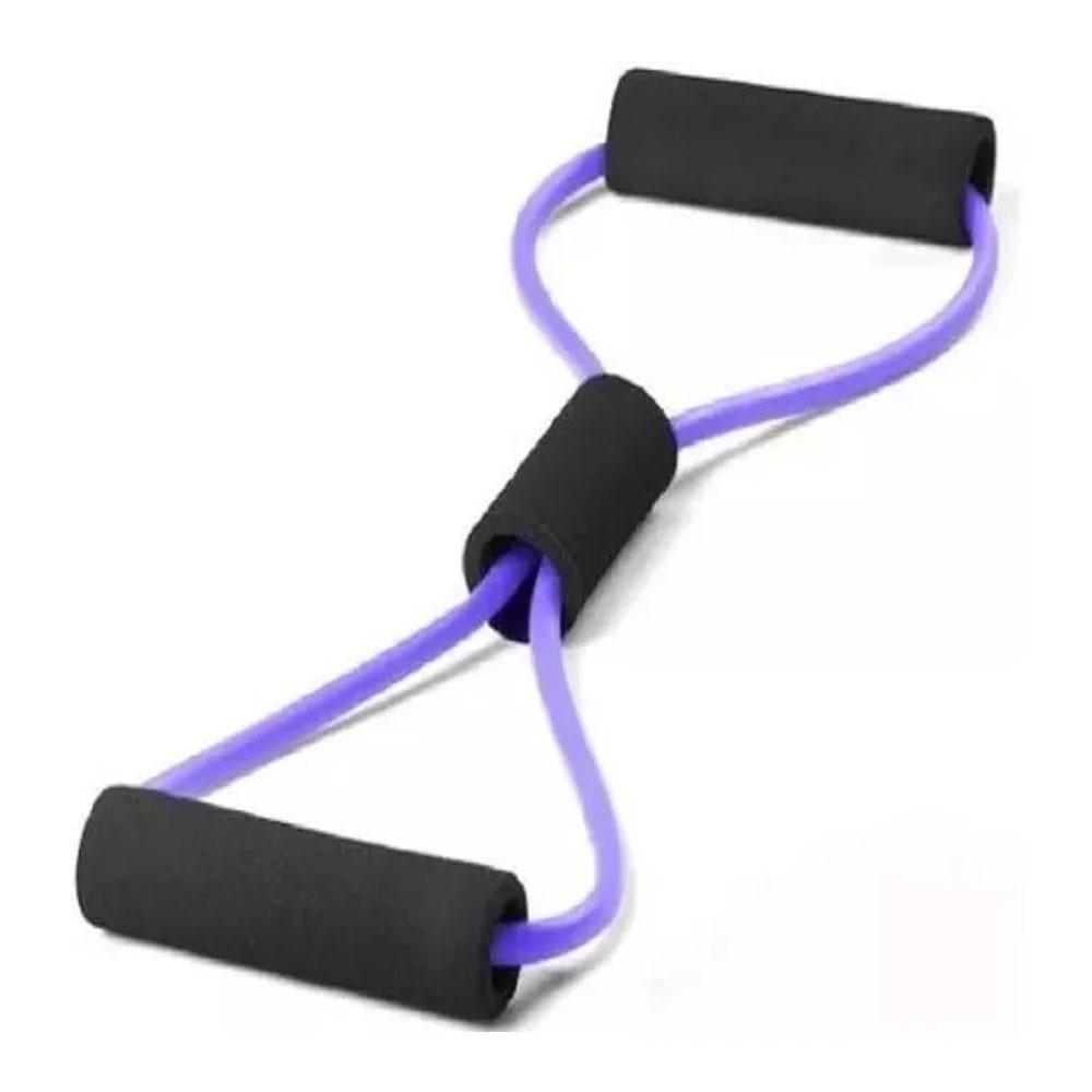 Kit 2 Elasticos Extensores Exercicio Academia Casa Intensidade Yoga Ginastica Fitness Pilates Multifuncional
