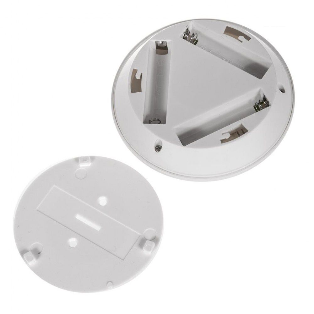 Kit 3 Lampadas Led Spot Luminaria Controle Remoto Sem Fio 15w