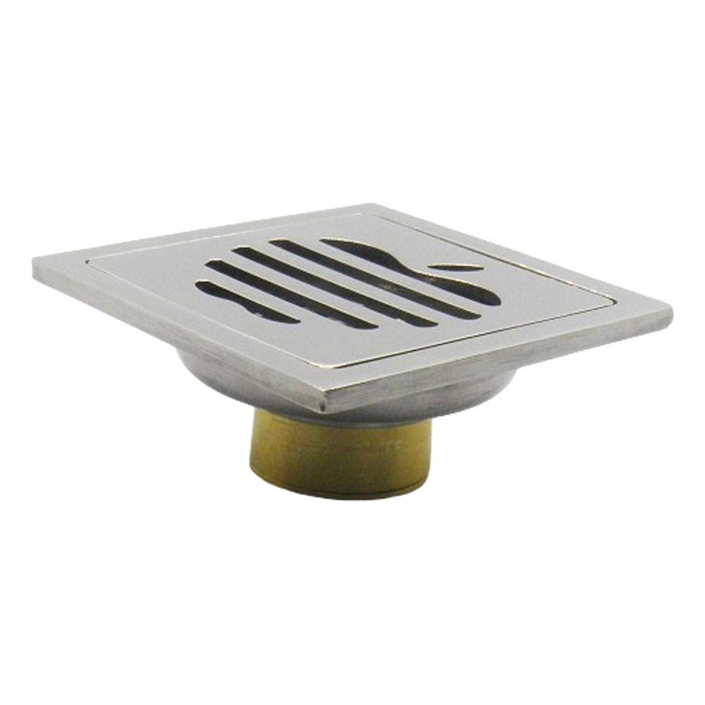 Kit 3 Ralos Inteligentes Aço Inoxidavel Anti Odor Insetos Banheiro 10X10 Maça