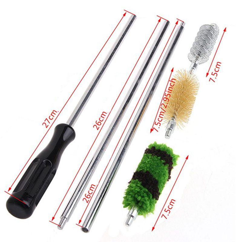 Kit de ferramenta 6 peças Limpeza Escova arma longa espingardas Rifle Caça conjunto manutenção