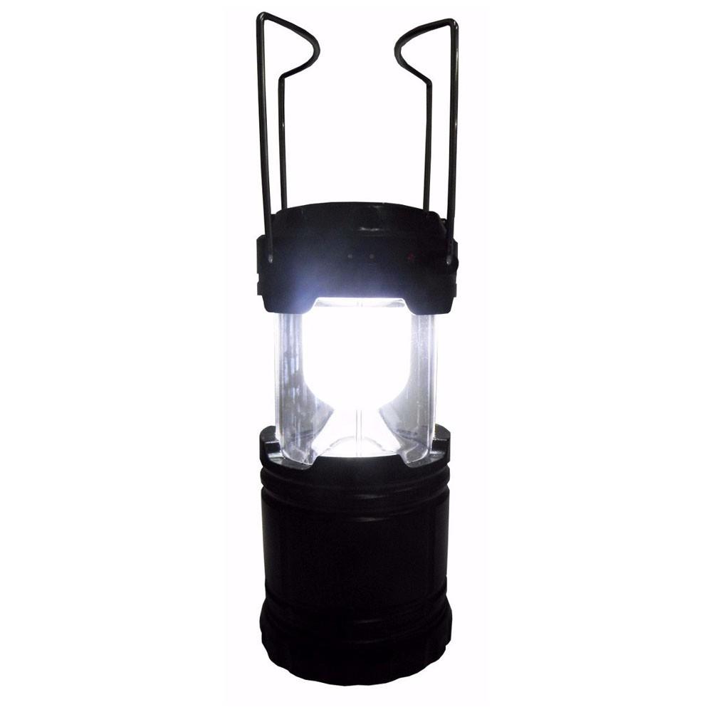 Lampiao Solar De Led Com Bateria Lanterna Luminaria Usb