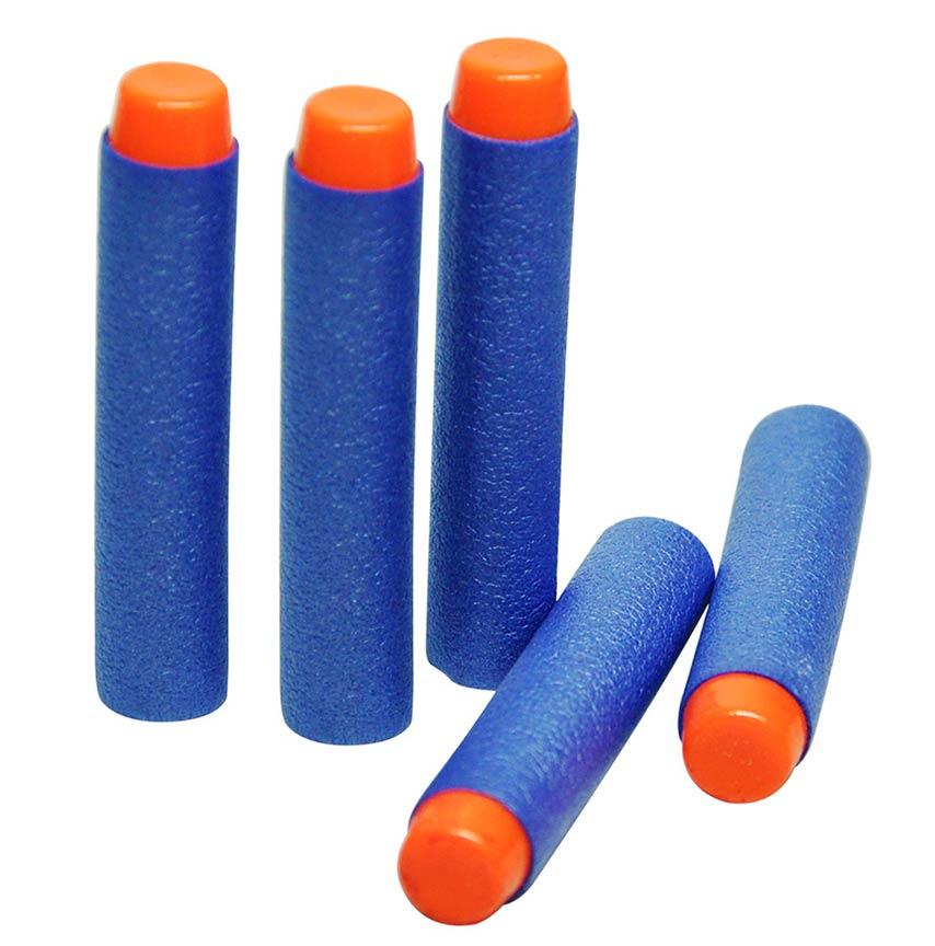 Lançador Master 10 Dardos + Brinde Com 12 Refil Super Shot Dardos Azul (KIT-DMT-5160-5161)