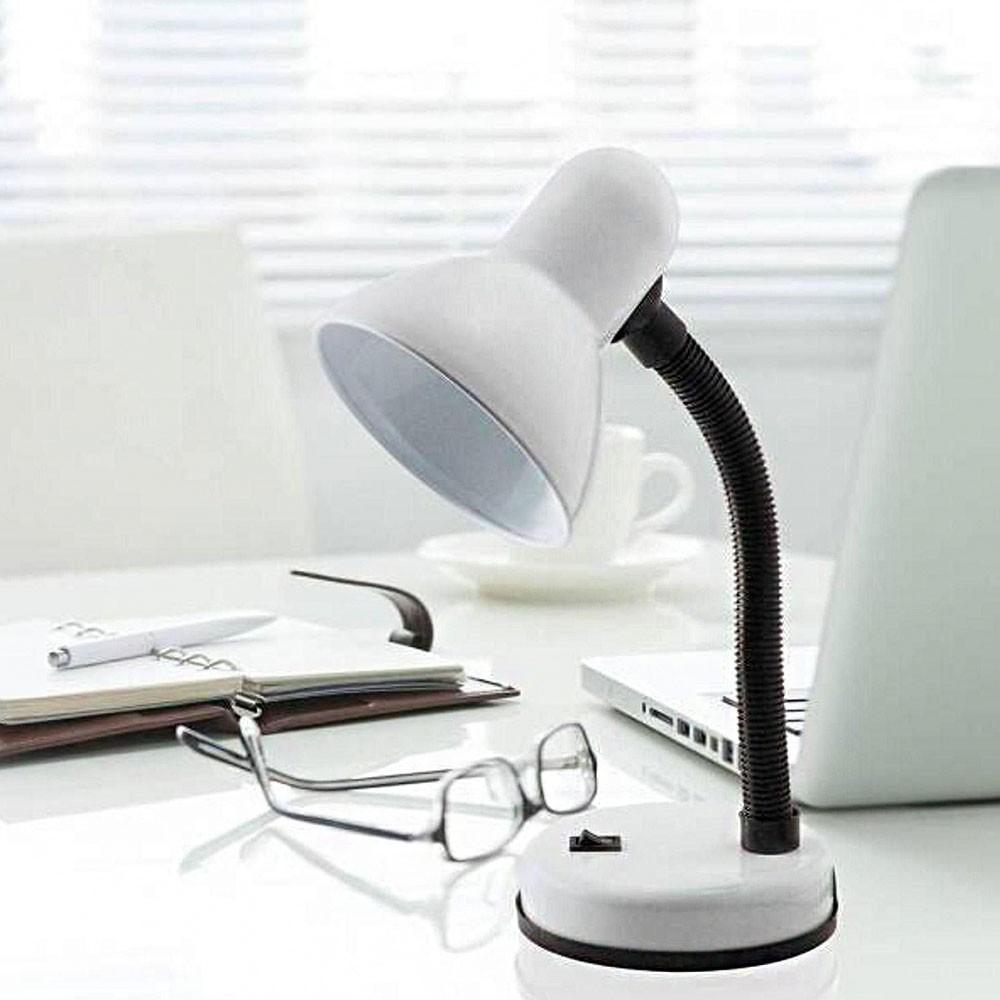 Luminaria de Mesa Articulavel Abajur Escritorio Copa Flexivel Trabalho Sala Iluminaçao Leitura Luz Estudos