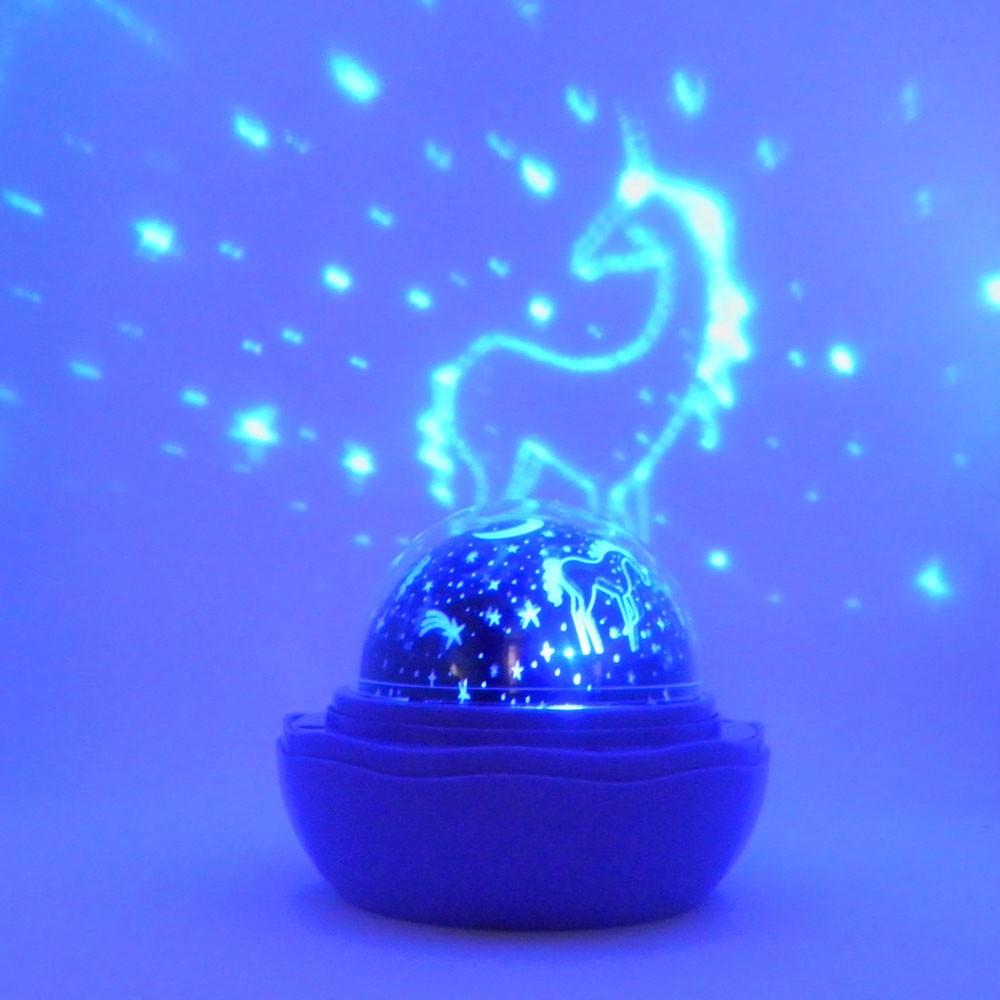 Luminaria Galaxia Lampada Ceu Estrelas Criança Projetor Decoraçao Iluminaçao Rotativa