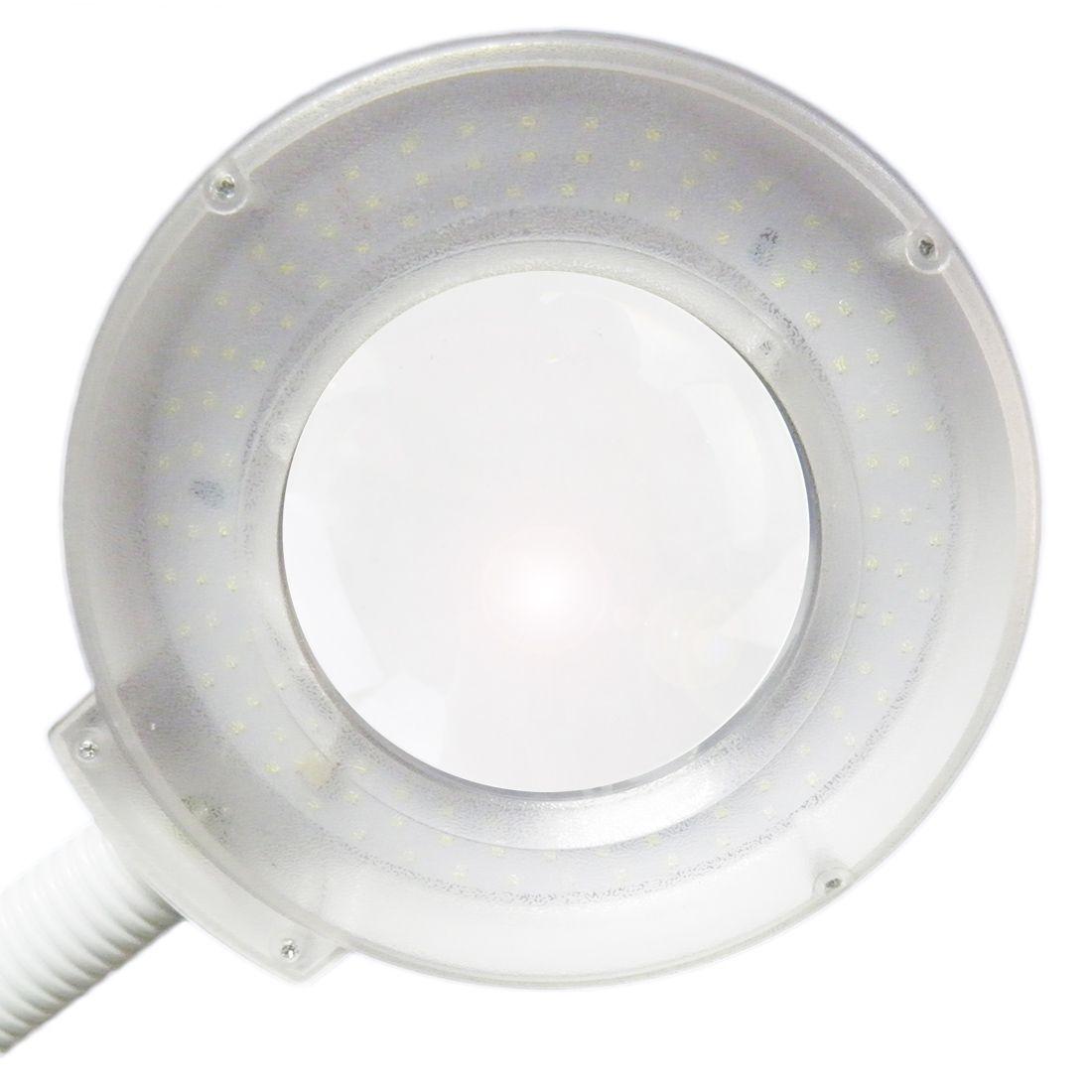 Lupa Estetica Articulavel Luminaria De Led Dentista Hospital Salao 110v