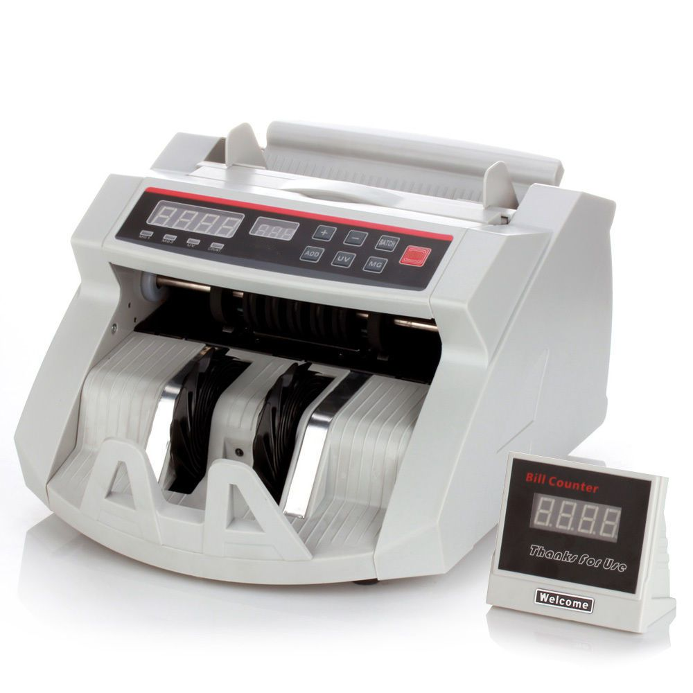 Maquina Contar Dinheiro Detecta Notas Falsas 220v Contagem