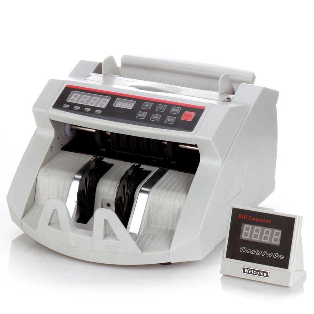 Máquina De Contar Dinheiro Detecta Notas Falsas Contagem Cedulas
