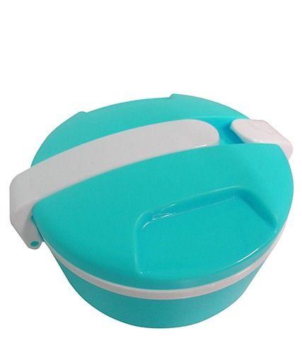 Marmita 2 Espaços Marmitex Para Freezer e para Microondas Azul (CA09113)