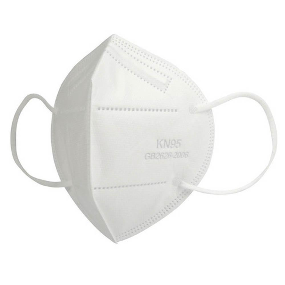 Mascara KN95 Kit 5 uni. Reutilizável Proteção Profissional Respiratoria Respirador EPI