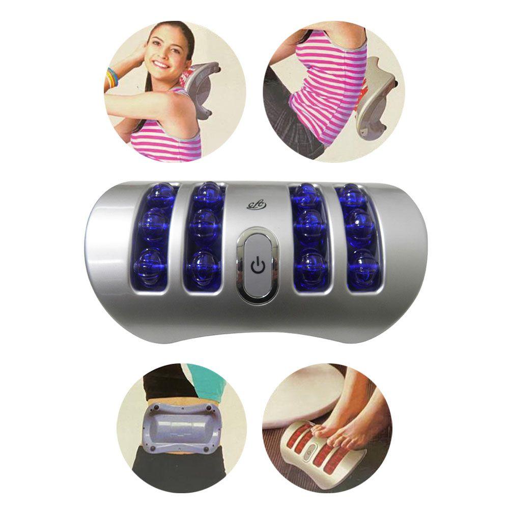 Massageador Corporal com vibração pescoço usb e pilha massagem Anti Estresse