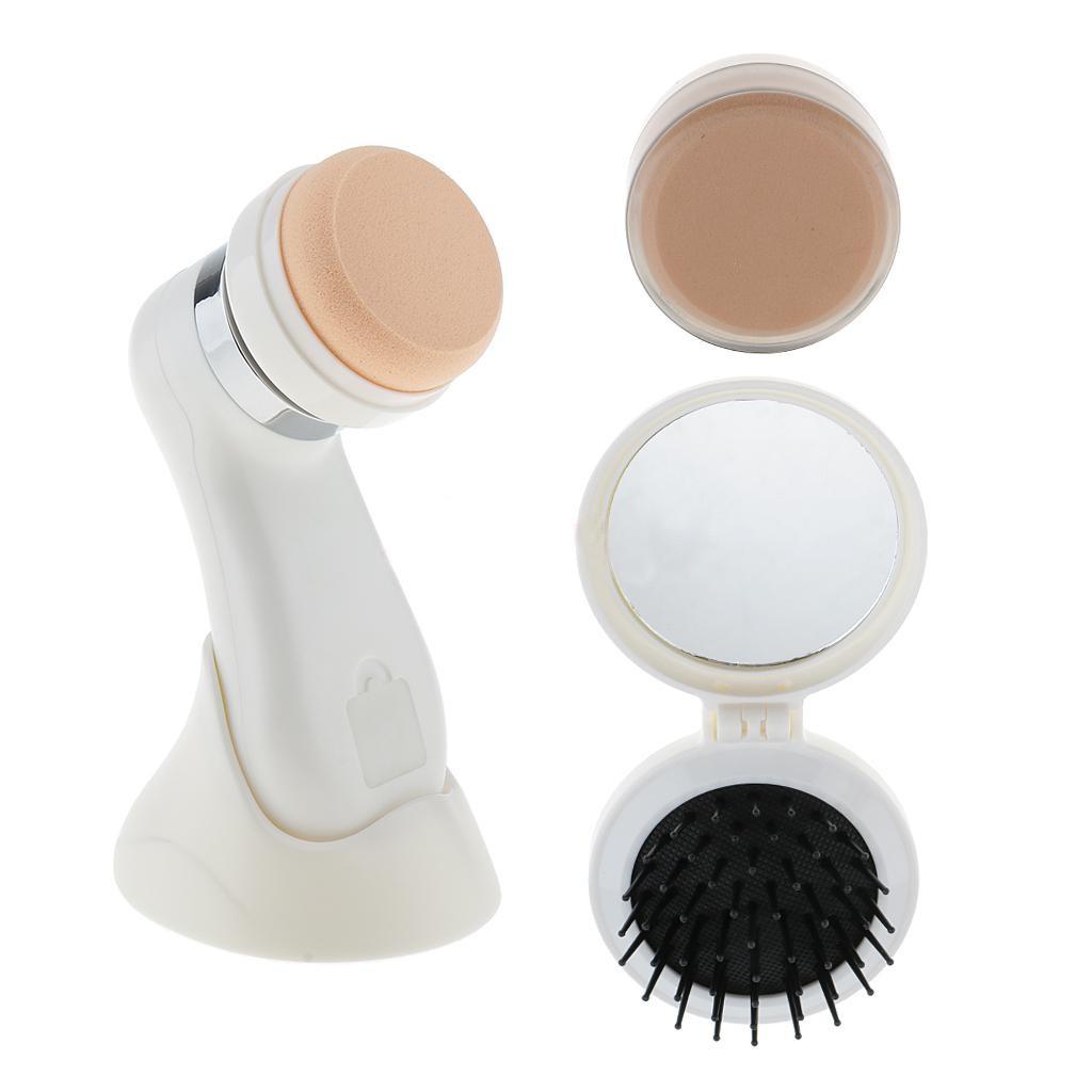 Massageador Eletrico Limpeza Facial Cnaier 3 em 1 Maquiagem Cosmeticos