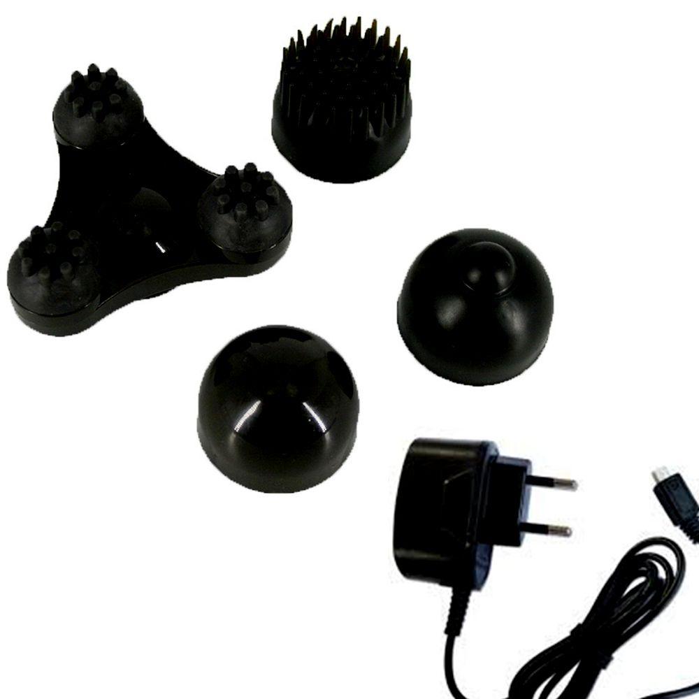 Massageador Recarregavel Bateria Eletrico Infravermelho Portatil Multi