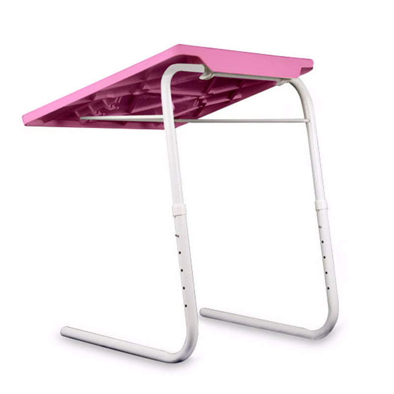 Mesa Inclinavel Dobravel Para Notebook Portatil Multi Uso 18 em 1 Articulado Rosa (BSL-MESA-1)