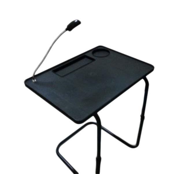 Mesa Notebook Luz Led Porta Copo Altura Muda Cabeceira Cama (bsl-23521-9)