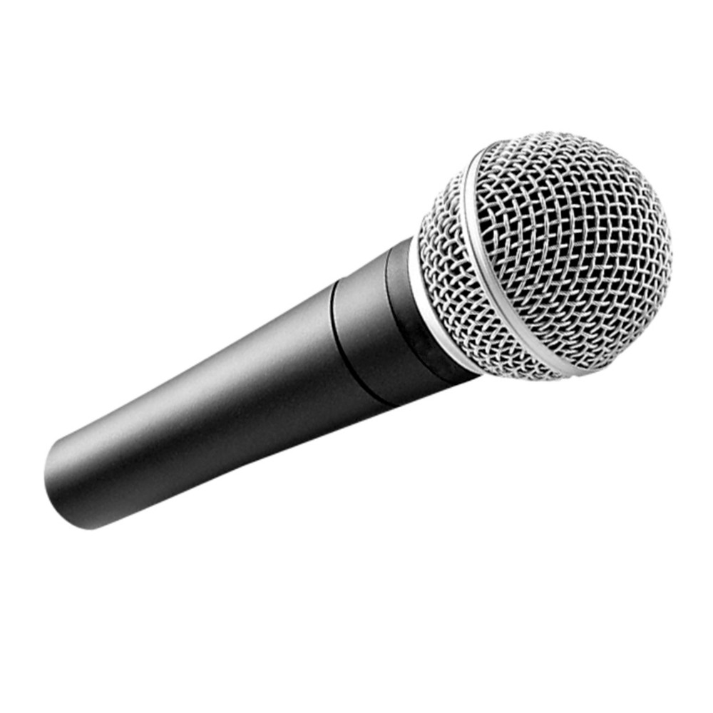 Microfone Dinamico com fio cardioide Studio SM-58 Musica Cantar unidirecional