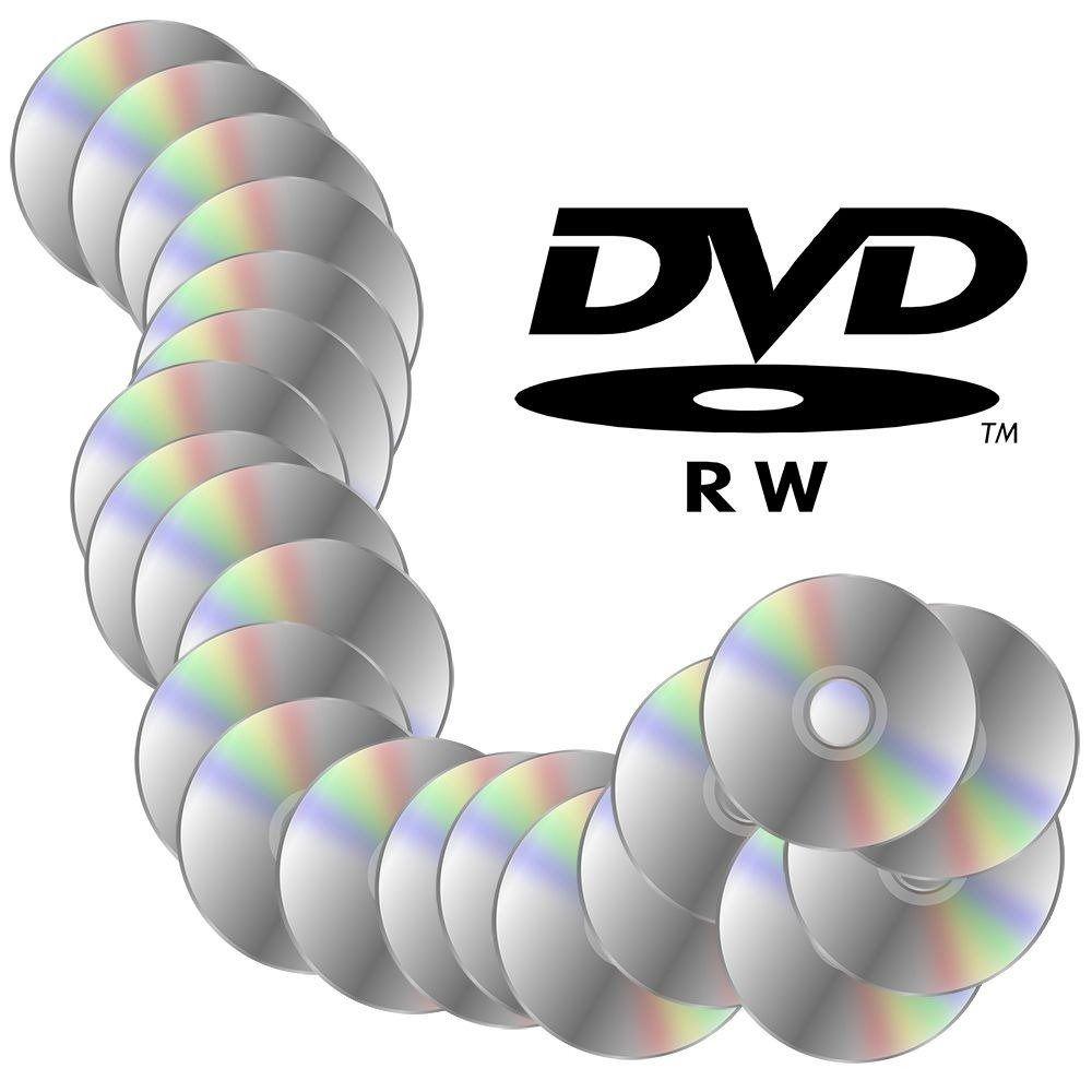 Midia Regravavel 4.7 Gb Dvd-rw Gravar 25 Unidades (DV062)